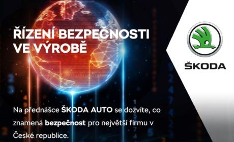 Přednáška ŠKODA AUTO na téma Řízení bezpečnosti ve výrobě